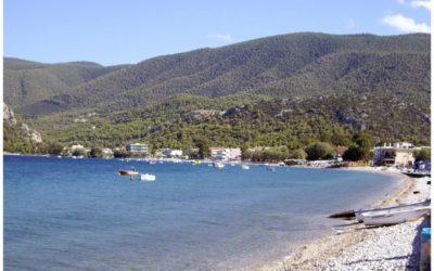 Λουτρά Ωραίας Ελένης- Παραλία Αλμυρή