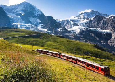 Ελβετία-Αλπικό-Τρένο