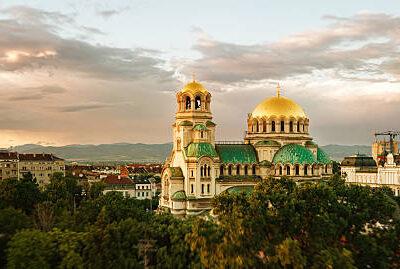 Alexander Nevski cathedral panorama